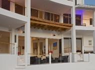 Akasha St Lucia\'s Best Holiday Villa Rental Main Terrace as Seen From The Sun Deck