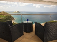 Master suite Terrace at St Lucia\'s Luxury Holiday Villa Rental