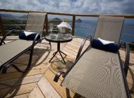 Enjoy Champagne on St Lucia\'s Best Holiday Villa Rental Sun Deck