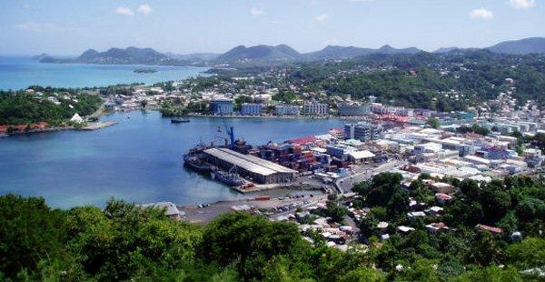 St Lucia Villa Rental, St Lucia Villas for Rent, Luxury Caribbean Villa Rental, Castries Harbour View