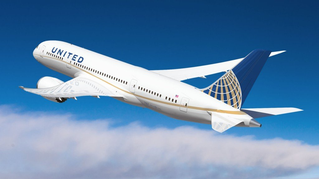 United Airlines in St Lucia