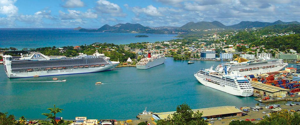 Cruise Travel to St. Lucia Increases