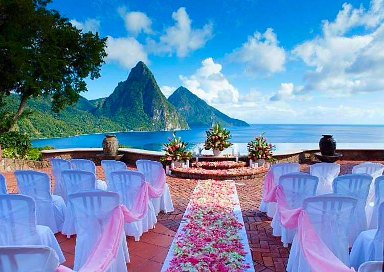 St. Lucia a Wedding Destination