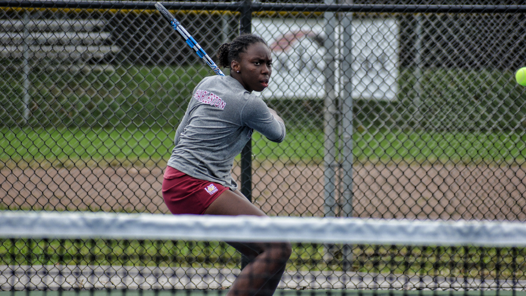 University Tennis Player Meggan William From St. Lucia