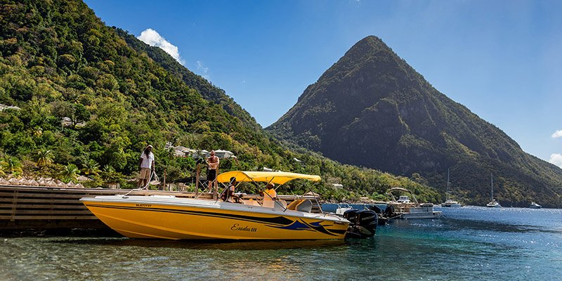 Boat Tours in St Luica