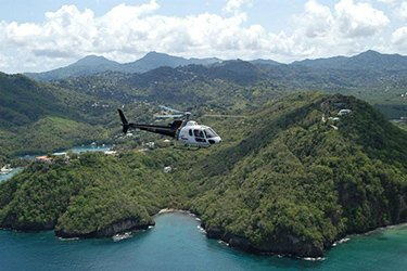 St Lucia Helicopter Transfers & Tours