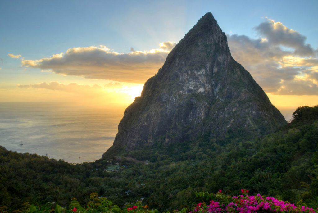 History and Sights of Saint Lucia