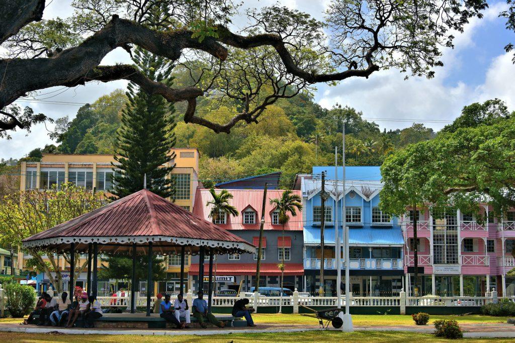 Saint-Lucia-Castries-Derek-Walcott-Square